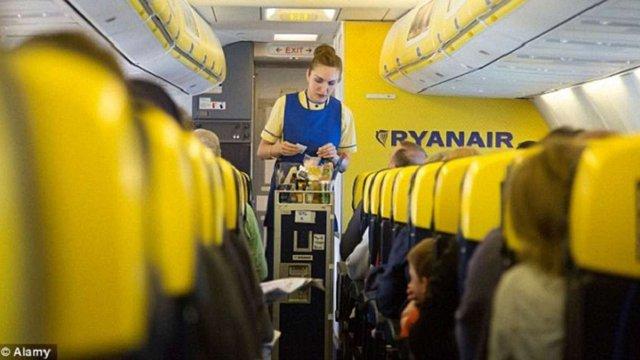 Компанія Ryanair запровадила обмеження на перевезення ручного багажу