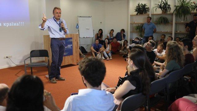 На Фестивалі ідей в Одесі мер Львова наголосив на розвитку авіасполучення між містами України