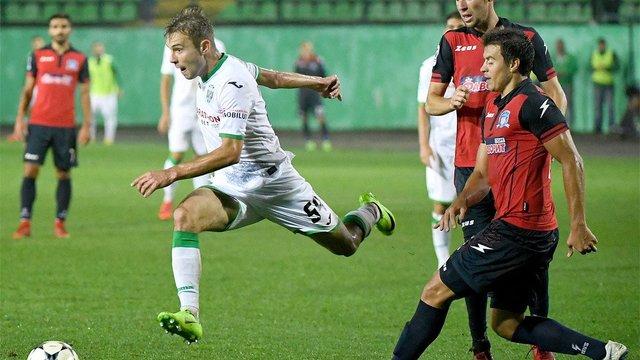 «Карпати» вдома програли «Арсенал-Київ»