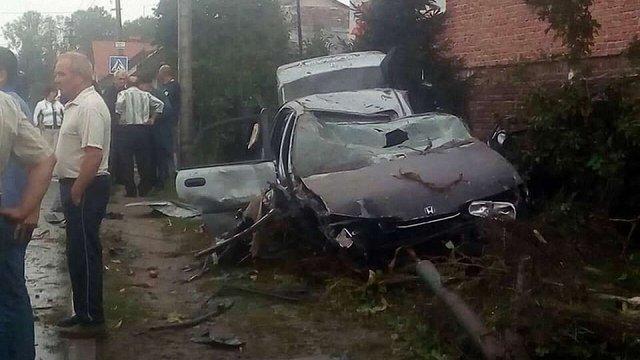 Унаслідок ДТП у Бібрці травмувалися 8 осіб, із них 3 – діти