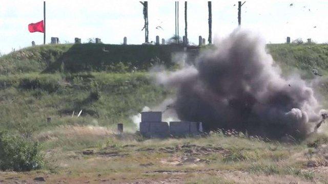 В Україні випробували ракетний комплекс «Корсар»