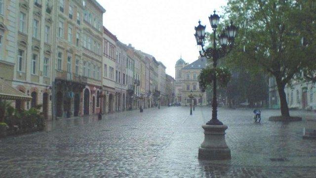 Синоптики прогнозують  у Львові дощовий початок вересня