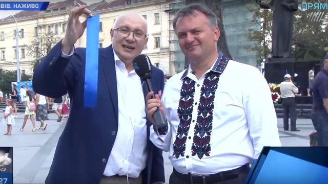 Синютка урочисто відкрив у Львові корпункт телеканалу колишнього «регіонала»