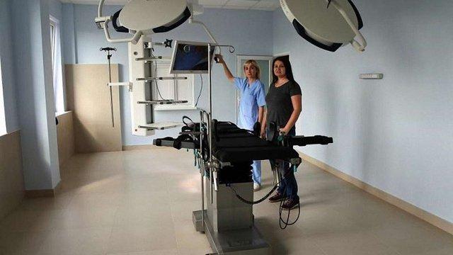 За кошти громадського бюджету в дитячій лікарні на Орлика облаштували сучасну операційну