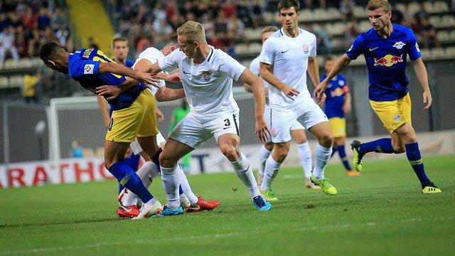 Луганська «Зоря» програла «РБ Лейпциг» в Лізі Європи через гол з пенальті на останній хвилині