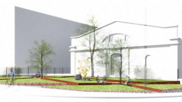 У Львові розпочали реконструкцію площі, де встановлять скульптурну композицію до 100-річчя ЗУНР