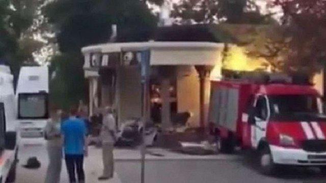 З'явилося відео з місця загибелі ватажка «ДНР» Олександра Захарченка