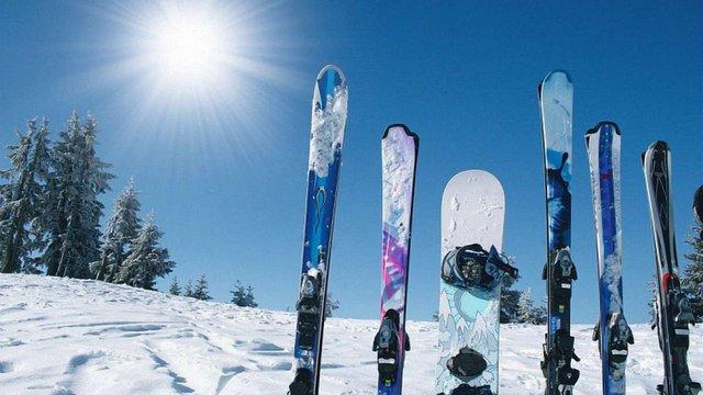 Україна стала лідером з постачання лиж до Європи