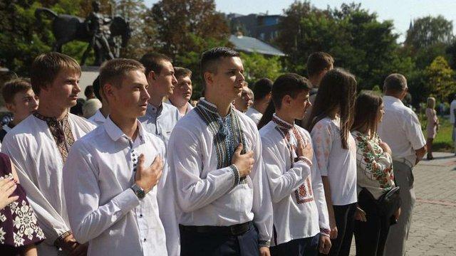 У Львівському університеті ветмедицини відбулась посвята першокурсників у студенти