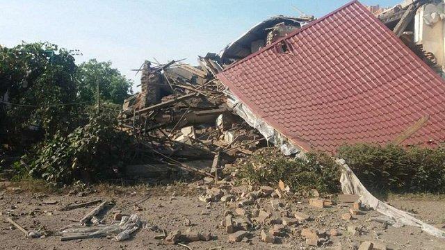 У Закарпатській області від вибуху обвалився житловий будинок, є травмовані