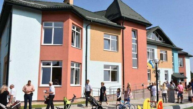 У селі поблизу Львова відкрили дитсадок на 75 дітей