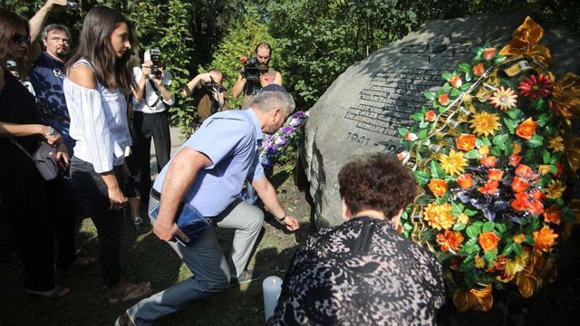 У Львові вшанували пам'ять жертв Янівського концтабору