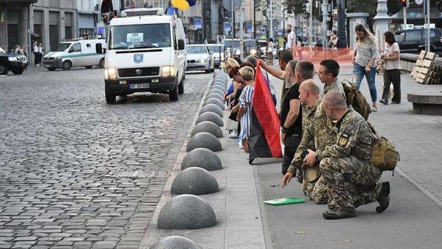 У Львові попрощалася з бійцем Дмитром Урбанським, який загинув на фронті