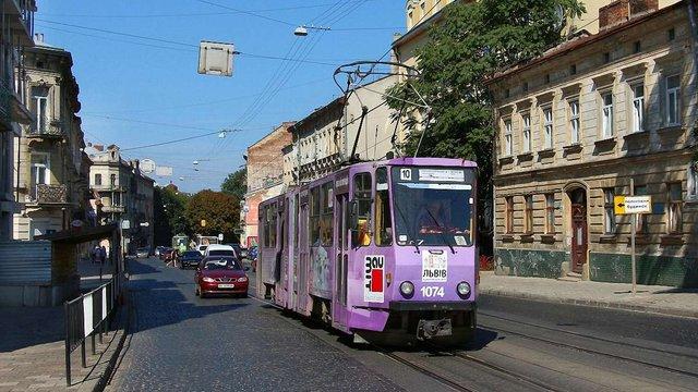 Трамвай №10 у Львові розпочне курсувати в жовтні