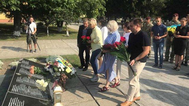 У Львові вшанували пам'ять полеглих у російсько-українській війні воїнів
