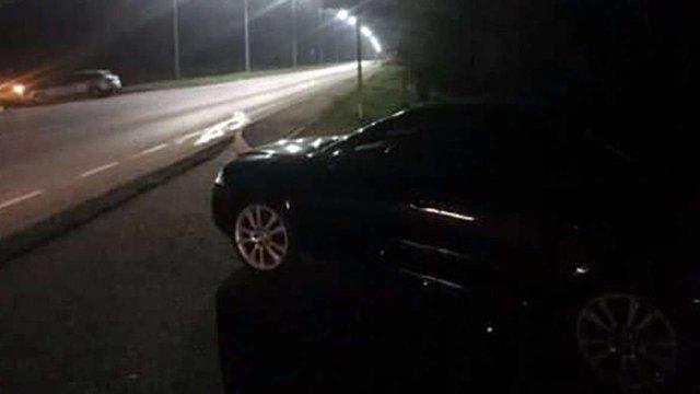 Поліція затримала водія голови Львівської ОДА за підозрою у нетверезому водінні