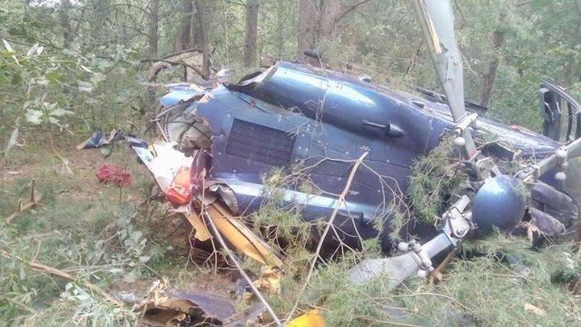 Вертоліт, який розбився у Києві, належав власнику «Наша ряба» Юрію Косюку