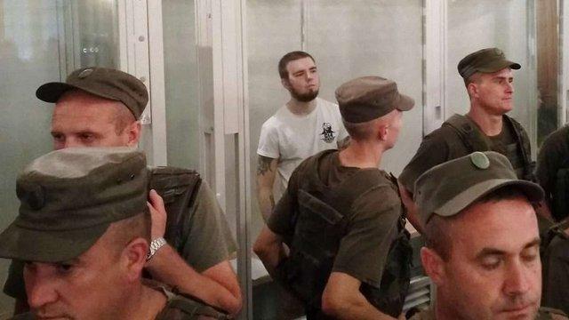 У Львові суд відпустив під домашній арешт активіста С14, який вдарив ножем поліцейського