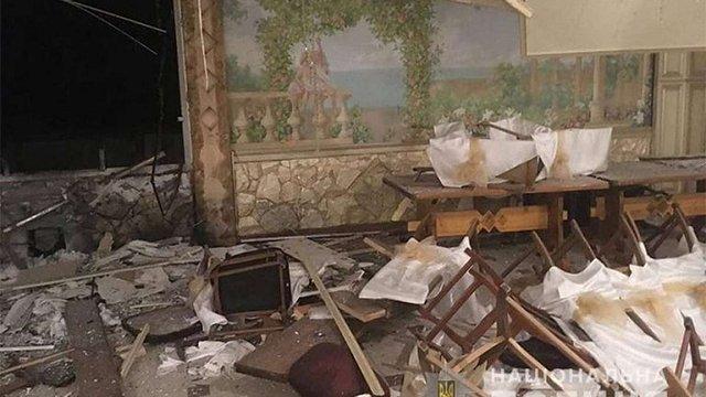Поліція затримала п'ятьох підозрюваних у причетності до підриву ресторану на Прикарпатті