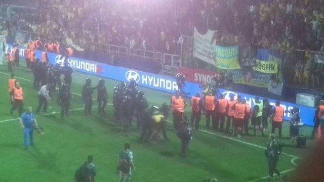 У Чехії заарештували вісьмох вболівальників збірної України