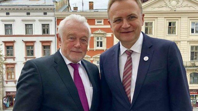 Андрій Садовий зустрівся із віце-президентом Бундестагу Німеччини Вольфгангом Кубікі
