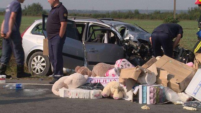 У важкій ДТП поблизу Коломиї загинуло подружжя з двома дітьми