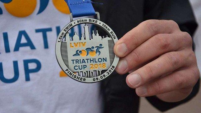 У Львові відбулись масштабні змагання з триатлону