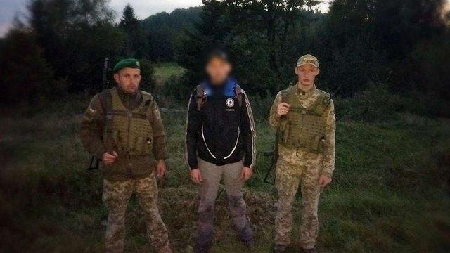 У Сянках затримали громадянина Польщі, який незаконно перетнув кордон