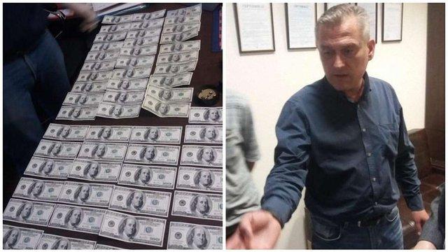 У Кропивницькому місцевого депутата від БПП затримали на хабарі у 5 тис. доларів