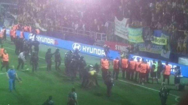 УЄФА відкрила дисциплінарне провадження через поведінку українських фанатів