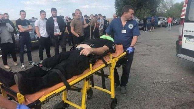 На Харківщині сталася бійка зі стріляниною під час спроби рейдерів захопити зерносховище