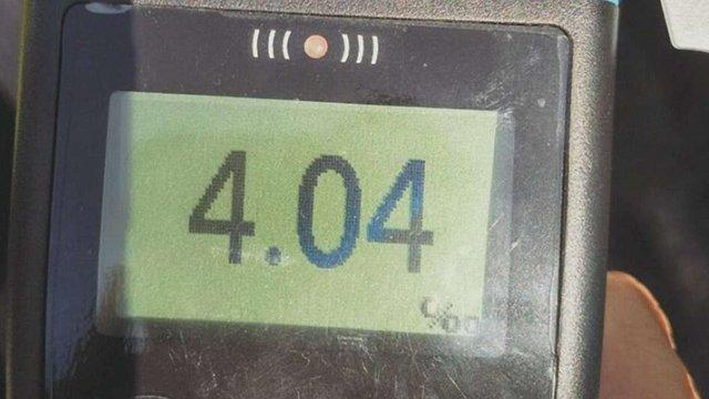 У Львові патрульні виявили водія з перевищенням у 20 разів норми алкоголю в крові