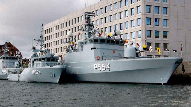 Данія планує продати Україні військові кораблі за 102 млн євро