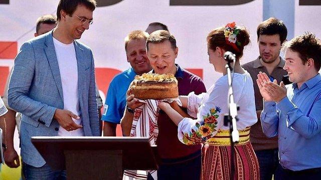 Депутати партії Ляшка та міністр спорту зголосилися взяти на поруки міністра Омеляна