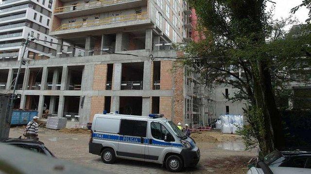 Український будівельник розбився на будівництві у польському Лодзі