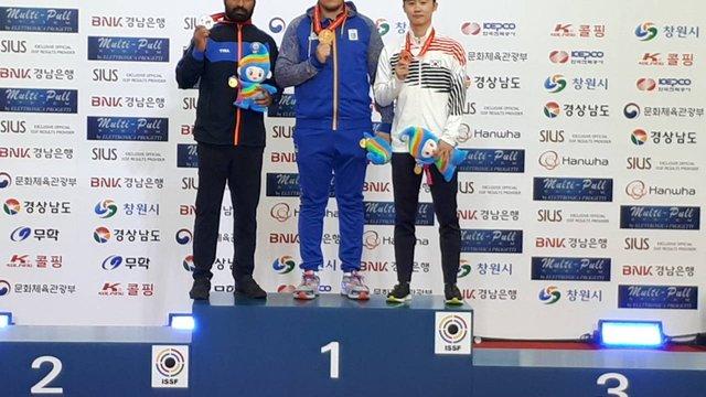Львів'янин Павло Коростильов став чемпіоном світу з кульової стрільби
