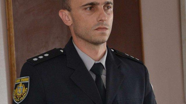 Патрульний поліцейський очолив Городоцьке відділення поліції