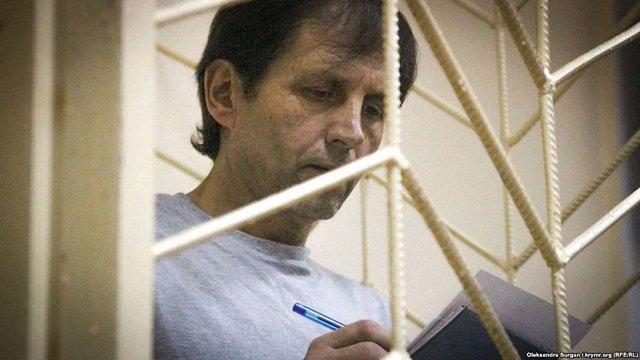 Українського політв'язня Володимира Балуха сильно побили у кримському СІЗО