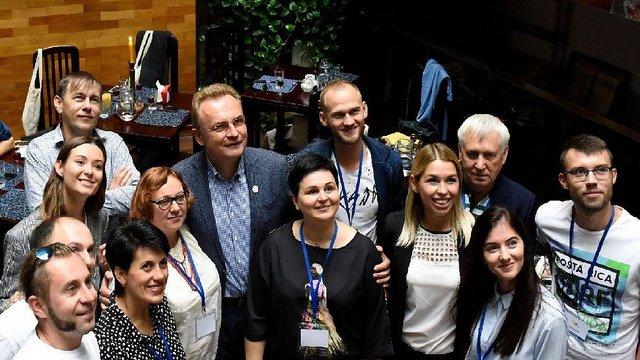 Андрій Садовий зустрівся з десятьма найкращими вчителями України