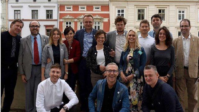 Мер Львова обговорив з іноземними учасниками Форуму 451°E впровадження концепції Lviv Smart City