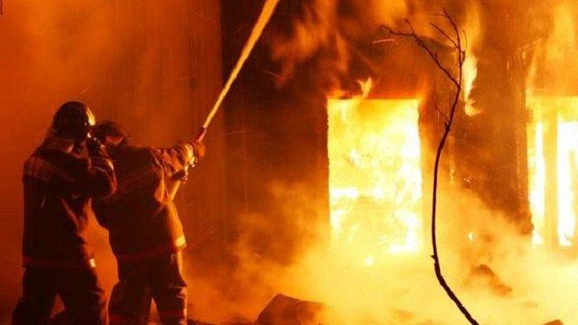 На Перемишлянщині під час пожежі в приватному будинку загинув 36-річний власник