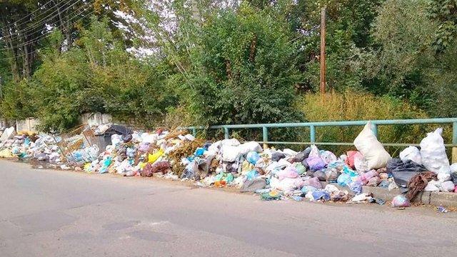 Мешканці Дрогобича попередили про сміттєві бунти у місті