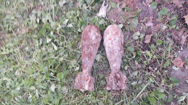 У Кам'янці-Бузькій піротехніки знищили 47 мінометних мін, які виявили під час земляних робіт