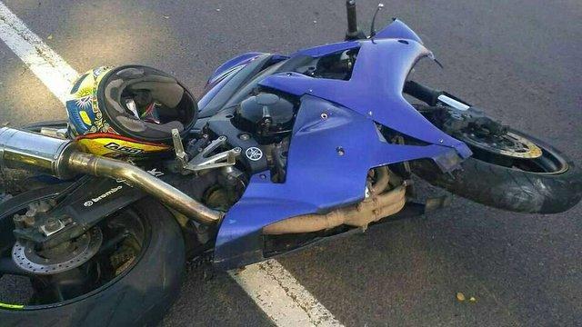 У Стрийському районі 19-річний пасажир мотоцикла потрапив в реанімацію після ДТП