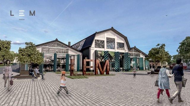 Львівська міськрада погодила договір про створення LEM Station на території старого депо