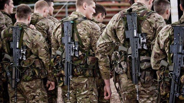 Велика Британія відправить в Україну своїх морських піхотинців