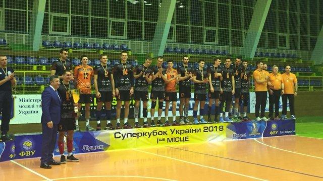 Львівські «Кажани» виграли Суперкубок України з волейболу