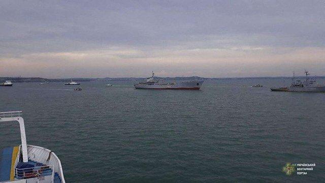 Україна почала створювати на Азовському морі військово-морську базу
