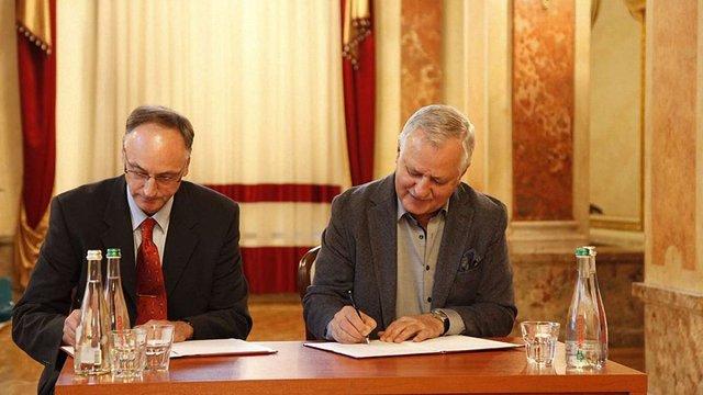 Львівська опера підписала меморандум про співпрацю з українсько-швейцарською асоціацією
