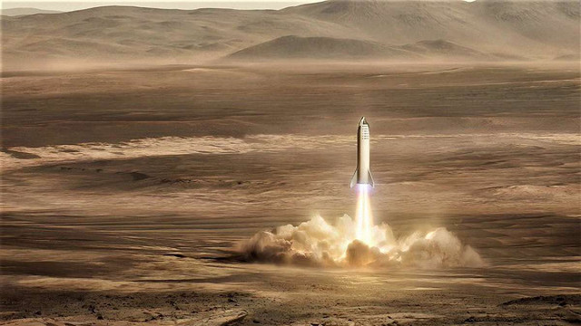 Ілон Маск показав, як виглядатиме база «Альфа» на Марсі